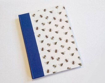 Bees and the Blues A5 Hardback Sketchbook