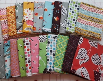 Complete 21 Fat Quarter Bundle Denyse Schmidt Flea Market Fancy Legacy, Free Spirit, OOP and VHTF