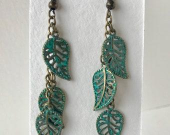 Turquoise leaf, long