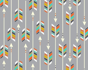 Tribal Grey Arrows Organic Baby Wrap