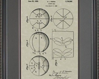 First Basketball Patent Artwork Player Coach Gift P8305