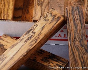 Bocote Wood Scraps - Small
