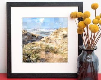 Lytham St Anne's Print - Sand Dunes Art - Photography Print -  Coastal Art - Kate Cooper Photography