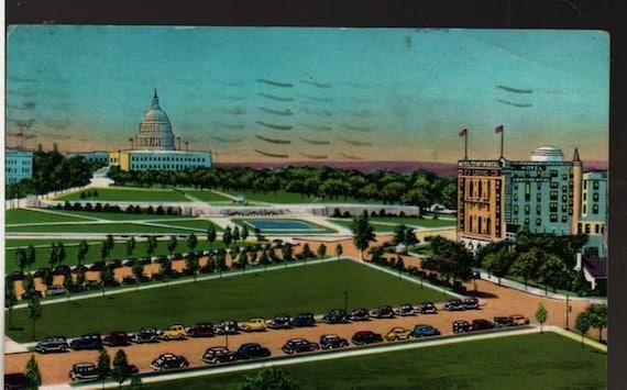 Hotel Continental – Capitol Plaza – Washington, D. C. + 1953 – Vintage Souvenir Postcard