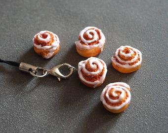 cinnamon roll charms
