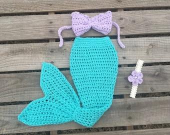 Mermaid Tail Photo Prop, Baby Mermaid Tail, mermaid fin, mermaid blanket, turquoise mermaid tail, mermaid costume