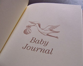 Personalized Baby Journal