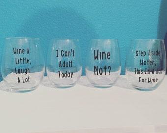 Wine glasses-set of 4
