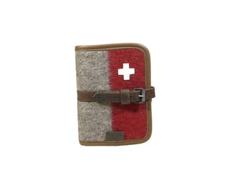 WD64 Swiss Army Blanket Writing Case A6 by Karlen Swiss