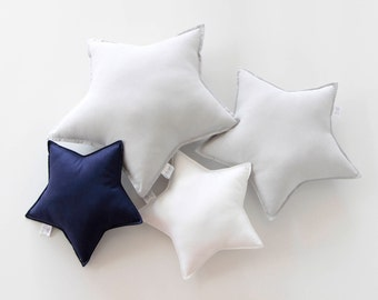 Small Star Cushion, Star Cushion, Star Pillow, Kids Pillow, Nursery Cushion, Kids Decor, Kids Room, Bedroom Cushion, Nursery Decor