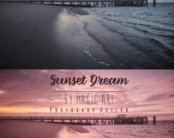 Sunset Dream - Photoshop Action