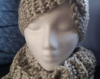 Matching Ear warmer and Cowl