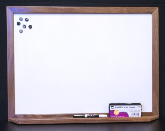 Large Framed Magnetic Dry Erase Board Whiteboard W Tray