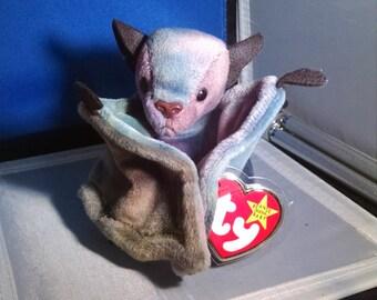 Ty, Halloween Beanie, Batty, The Bat, Gasport Error, Beanie Baby, Beanie Babies,  Beanie