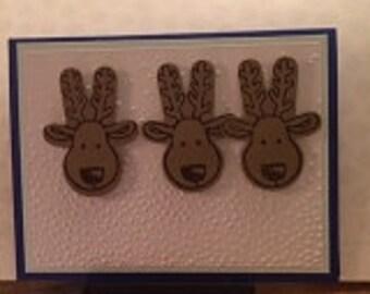 Merry Reindeer Card