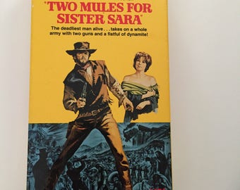 Two Mules For Sister Sara  with Clint Eastwood (VHS)