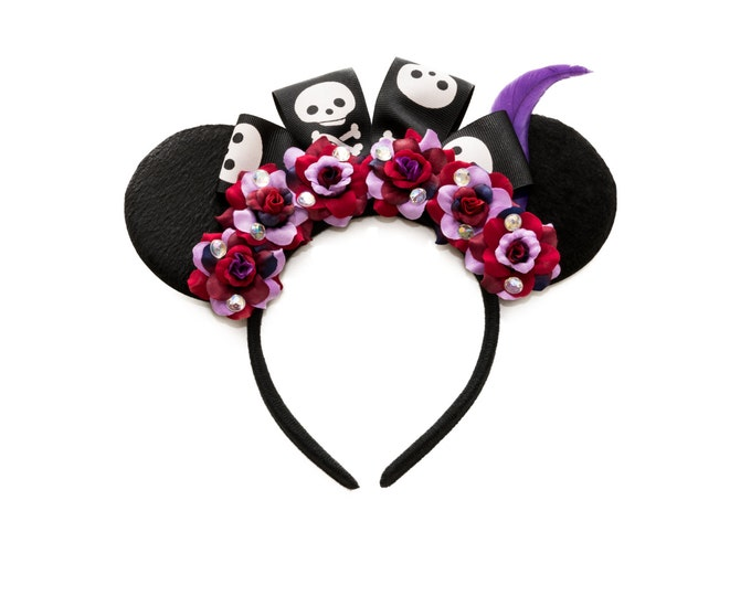 Dr Facilier Mouse Ears Headband