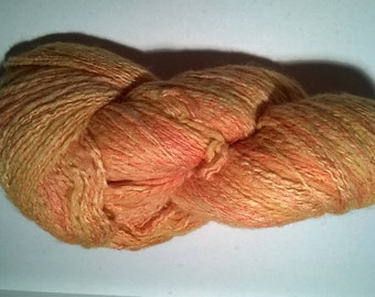 Shine - silk and Merino hand spun skein