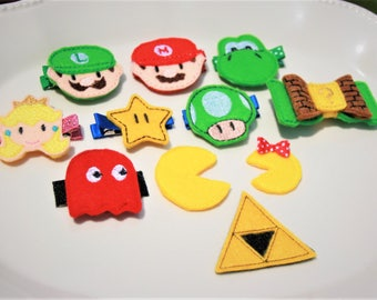 Power Me Up Clippie, Your Choice of Gaming Inspired Hair Clip