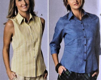 Top Sewing Pattern UNCUT Butterick B6026 Sizes 16-24 Plus Size