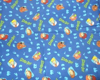 Rare Scooby Doo Cotton Fabric