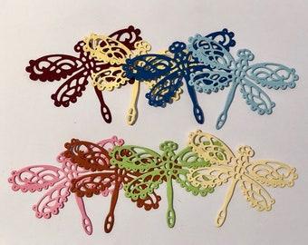 Dragonfly Die Cuts x 8