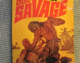 DOC SAVAGE fear cay #11 may 1966 bantam book