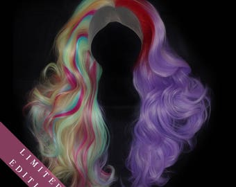Limited Edition - Pride Rainbow -  Deep Lace Front Wig