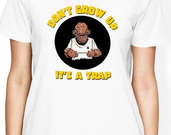 Its a trap Shirt, Admiral Ackbar Shirt, Its a Trap Tshirt, Star Wars Women Shirt - Star Wars T Shirt, Gift for him, Gift for her, Nerd Shirt