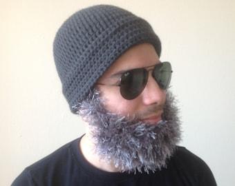 Handmade Crochet Santa Claus Beard hat PATTERN, Toturial PDF crochet beard hat pattern Irish beard, beard hat, beard hat pattern