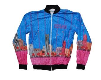 Tyvek jacket etsy vintage 1980s oregon runners club portland marathon tyvek jacket sm gumiabroncs Images