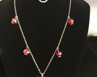 Resin & bead Chain Pendant