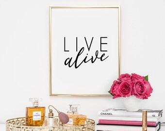 Dorm Decor, quotes, home decor, printable, art, inspirational quote, motivational quote,  typography, office decor