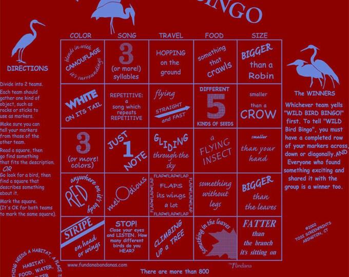 Wild Bird Bingo Game! A fun way to learn about the wonderful world of birds playing a bingo game-Wild Bird Bingo!