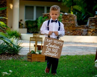 Ring Bearer Signs/ Ringbearer Sign/Flower Girl Signs/Wedding Entrance/Wedding Ceremony Prop/Wedding Sign/Rustic Wedding/Country Wedding