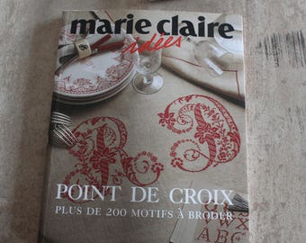 Marie Claire ideas 200 patterns embroidery cross stitch book