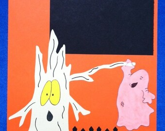 Halloween Scraobook Page.