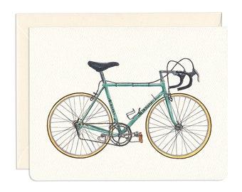 Classic Bianchi Bicycle Card