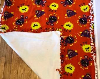 "My little monsters fleece blanket 50"" x 66"""