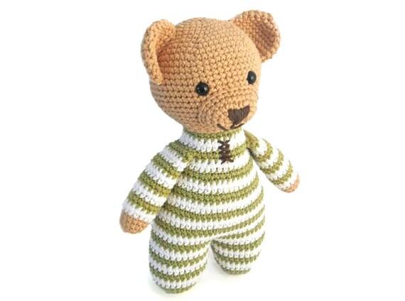 Amigurumi Patterns Bear : Amigurumi crochet patterns for crochet teddy bear pattern how to