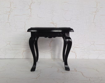 Miniature  Black side table / Coffee table