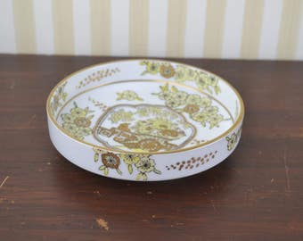 Vintage Chinoiserie Dish
