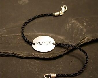 Oval Sterling Bracelet