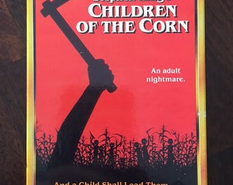Children Of The Corn VHS Video Horror