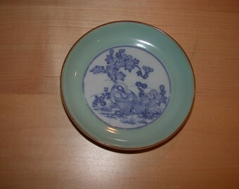 ON SALE  Small Asian Celadon Dish