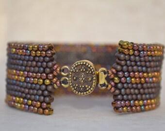 Peyote Bracelet Cuff