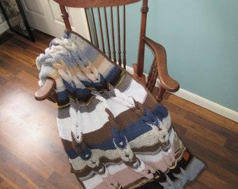 Soft Neutrals Knit Throw