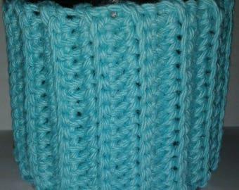 Bright Blue Ice Cream Sweater Cozy