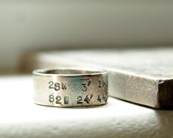 Custom Coordinates Ring