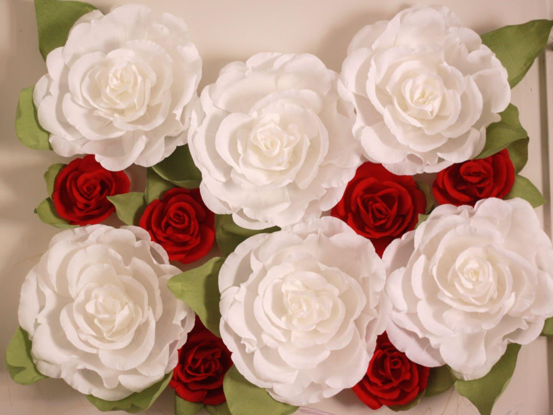 Paper flower wall display vatozozdevelopment paper flower wall display mightylinksfo
